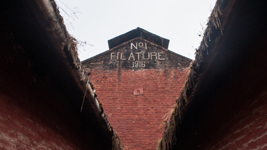 The 120-Year-Old Silk Factory Frozen in Time