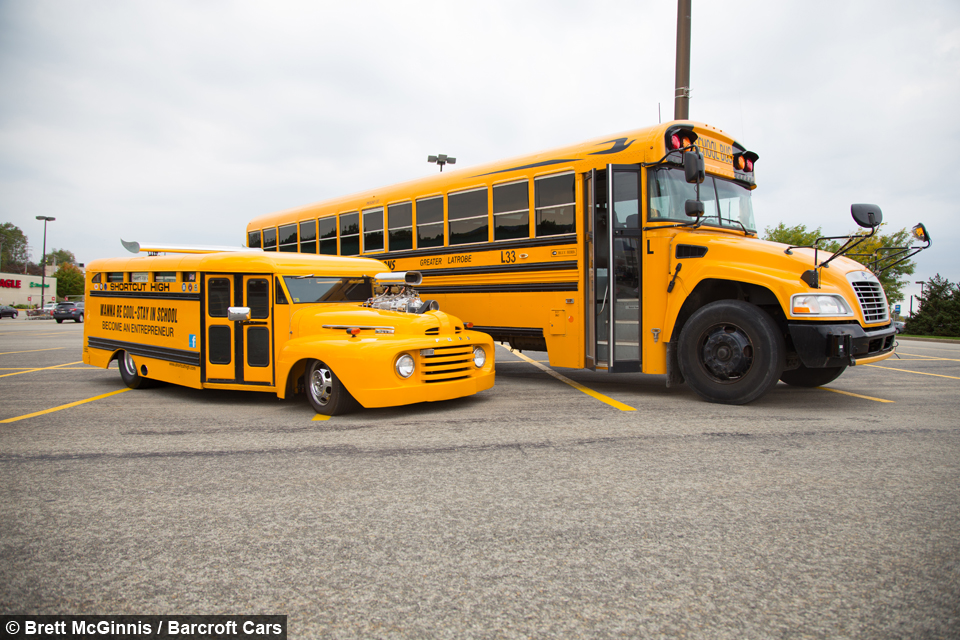 School Bus Hot Rod