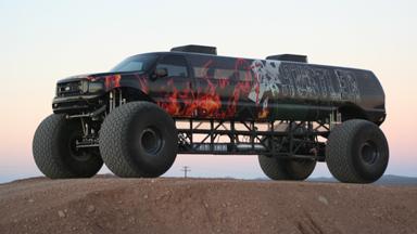 $1M 'Sin City Hustler' Is World's Longest Monster Truck
