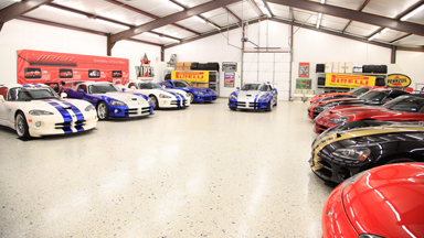 Couple Own World's Largest Dodge Viper Collection