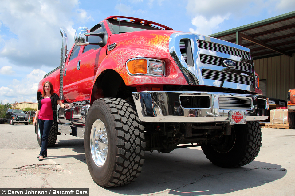 Ford F650 Super Truck >> Extreme Super Truck: The Kings Of Customised Picks Ups