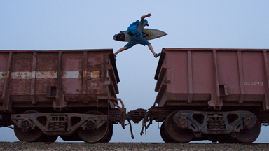 Life's A Hitch: Train Surfing In The Sahara Desert