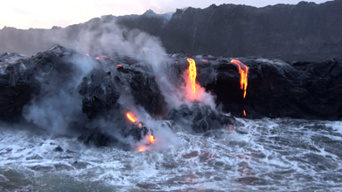 Lava Level On The Rise In Kilauea Volcano