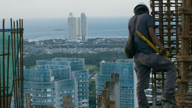 Jakarta's Expanding Skyline From High-Rise Buildings