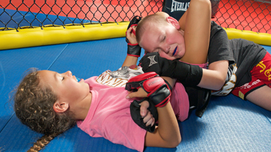 Cage-Fighting Kids: Children As Young As Four Learn MMA