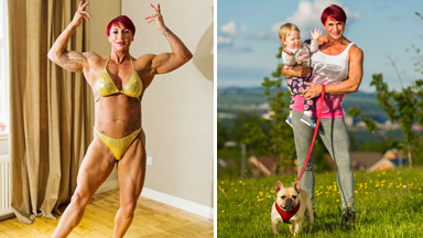 Bodybuilder Mum Obsessed with Pumping Iron says she will Never be Big Enough