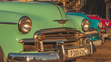 The Vintage Cars of Cuba