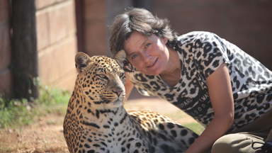 Leopard Lady Living With Wild Cats