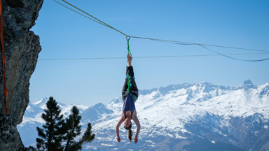 Winter Festislack: Tight Rope Walking With A View