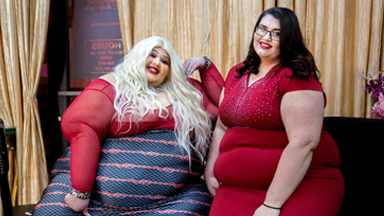 550lb Beautician Launches Plus-Size New Salon And NightClub