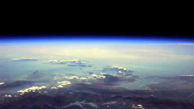 Space DIY: Engineer uses balloon to photograph Greece from space