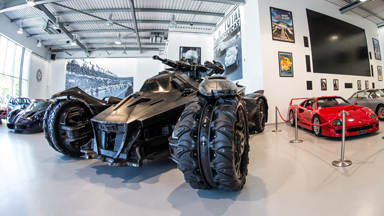 Holy Smokes Batman! Caped Crusader's Vehicle Parked In London Supercar Showroom
