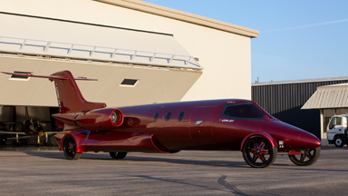 The $5 Million Learjet Limo