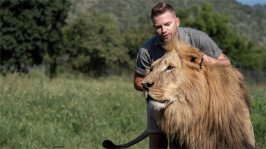 Lion King: The 23-Year-Old Is Best Friends With Big Cats