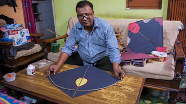 The Sky's The Limit: Indian Brothers Run Delhi's Oldest Kite Club