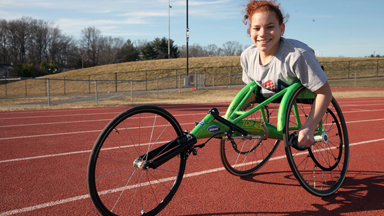 Double Amputee Teen Sets Her Sights On Achieving Her Paralympic Dreams
