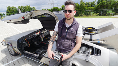 I Drive My DeLorean With A Remote Control