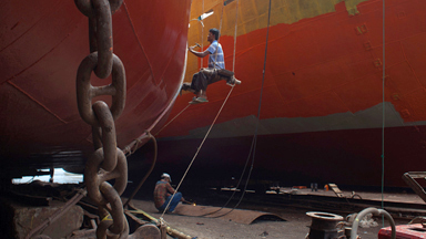 Children As Young As Six Work In Bangladeshi Shipyard