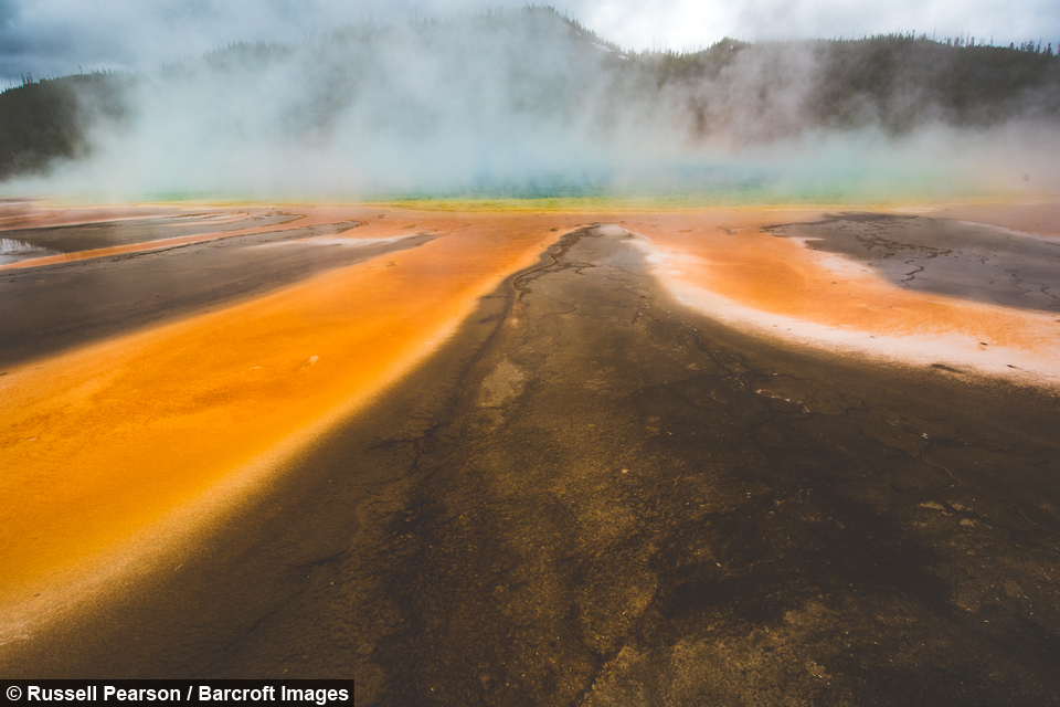 What lies beneath: The boiling springs of an underground supervolcano