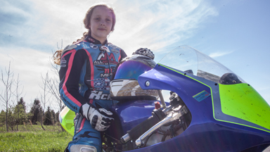 The 10-Year-Old Motorcyclist Racing The Pros