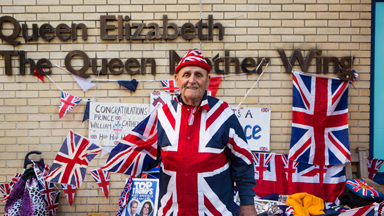 Royal 'Superfans' Wait For The Duke And Duchess's New Baby