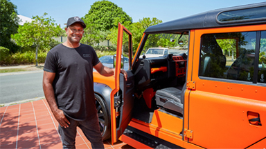 Hot Wheels Fan Builds Ultimate Land Rover Defender
