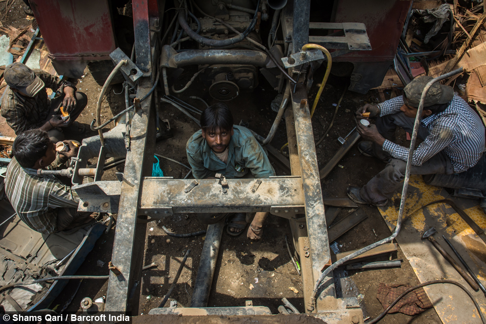 What a load of rubbish! Inside Asia's biggest scrap yard