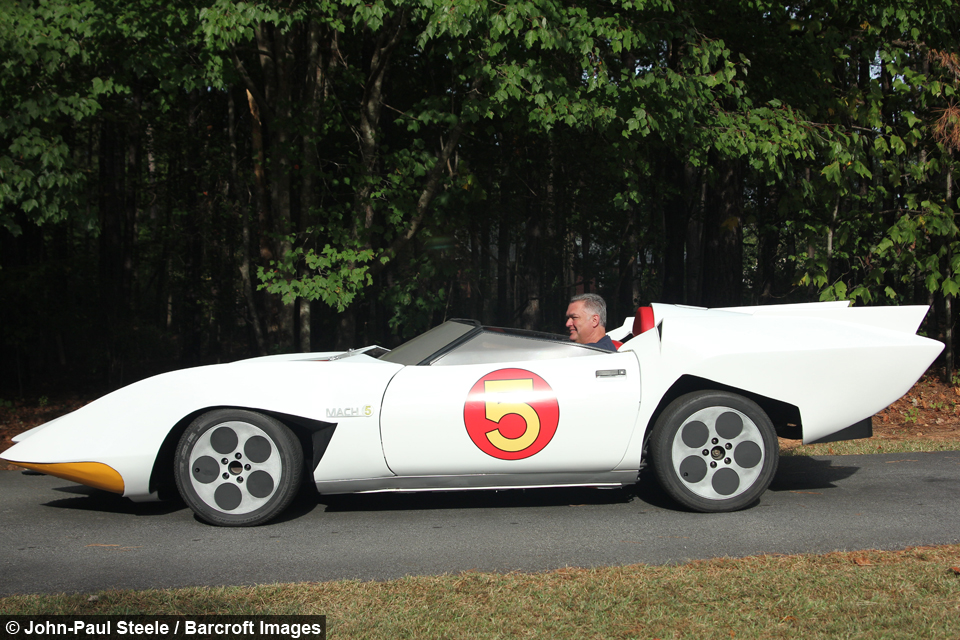 Cartoon Junkie Builds Mach 5 From Speed Racer