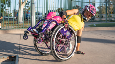 Spina Bifida Won't Hold This 12-Year-Old Back