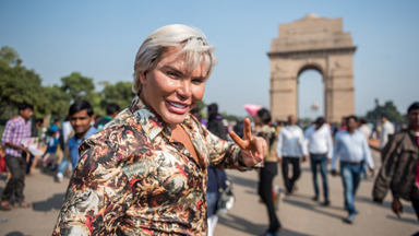 The Human Ken Doll Explores Delhi