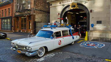 Ghosbusters Fanatic Builds Exact Replica of Famous Ecto-1