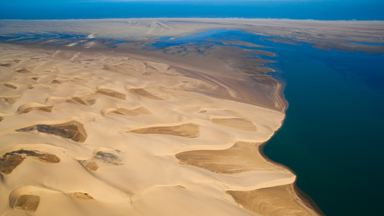 Photographer Captures Stunning Pictures Of Namibia From Paraglider