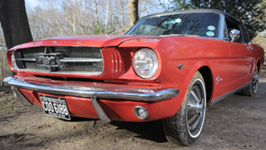 Man's 15 Year Project To Restore 1964 Ford Mustang To Its Former Glory