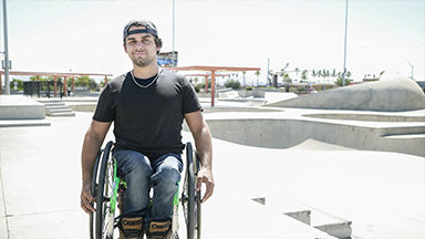 Wheelchair Skater Pulls Stunts You Won't Believe!
