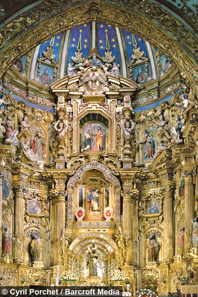Real Life Love Stories: Heavens Above! Opulence Of Baroque-style Churches Captured