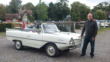 Amphicar - The Car That's Also A Boat