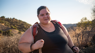 Plus Size Hiker Fights Prejudice