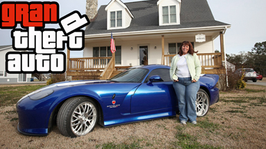 Grandmother wins game's iconic car