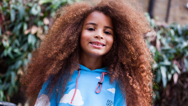 Model's Natural Afro Hair Gets An Epic Restyle