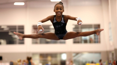 10 Year Old Gymnast Set To Become Olympic Star