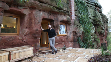 Rock Solid: Man Spends £160,000 Building Flintstones-Style Cave House