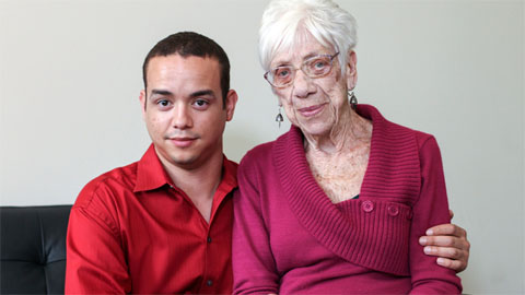 Wrinkly Yet Kinky: Toy Boy Dates 91-Year-Old Great Grandmother