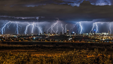 Flash Photography: Lightning Shatters The Sky In Stunning Composites