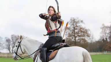 Horse Play: Couple Bring Ancient Art of Horseback Archery to UK