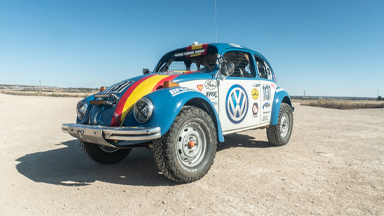 Custom VW Tackles Brutal Desert Race