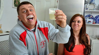 Married Bodybuilder Drinks Other Woman's Breast Milk To Build Muscles