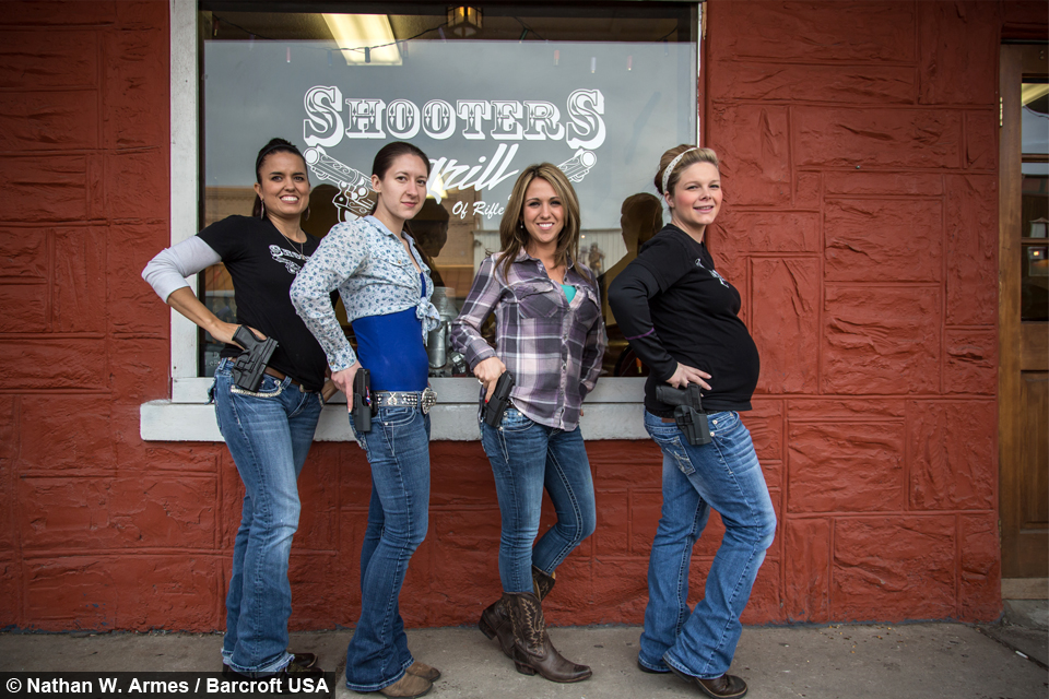 Serve and Protect: Meet The Gun-Toting Waitresses
