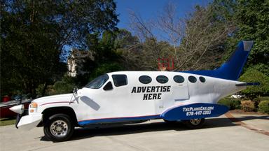 Genius Car Designer Builds 32ft Long 'Plane Car'