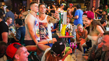 Bright Lights, Big City: A Night Out In Bangkok's 'Backpacker Ghetto'