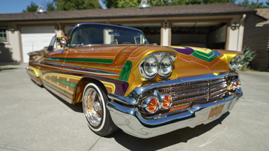Spectacular Chevvy Lowrider Boasts 600 Custom Parts